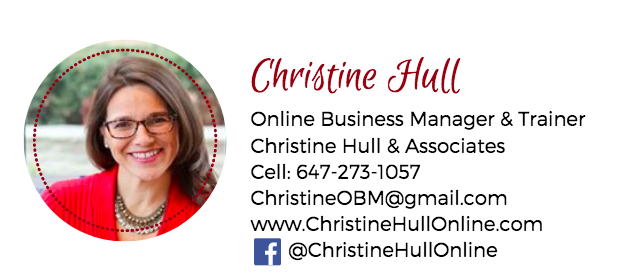 Christine Hull, Online Business Manager