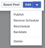 How to Edit a Scheduled Post