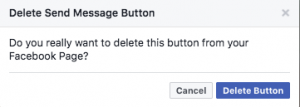 Delete your Call to Action Button