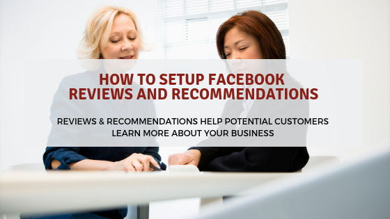 How to Setup Facebook Reviews and Recommendations