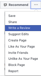 How to Write A Fcebook Page Review