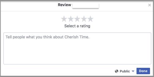 write a review window