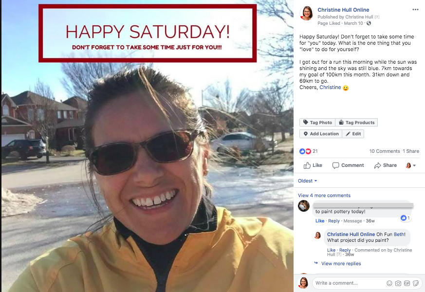 Don't Be Afraid to Show Your Personality on Facebook - share your hobbies