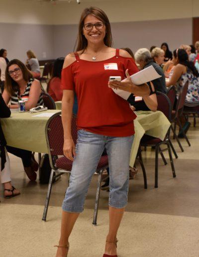 MAWB July – Christine standing
